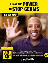 I have the power to stop germs. So do you