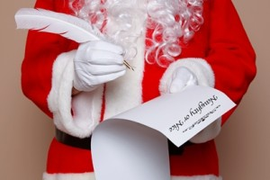 Santa Claus checklist