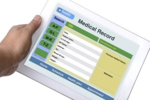 Patient medical record.