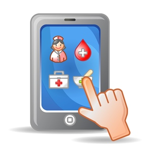 Medical information on mobile phone