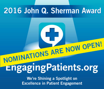 Save the Date - January 21, 2016 Nominations Open for the 206 John Q. Sherman Award